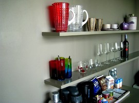 シンプルな棚の作り方